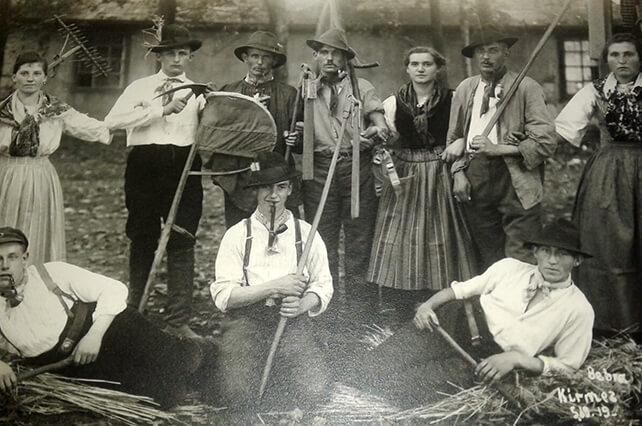 Kirmes Anno 1919